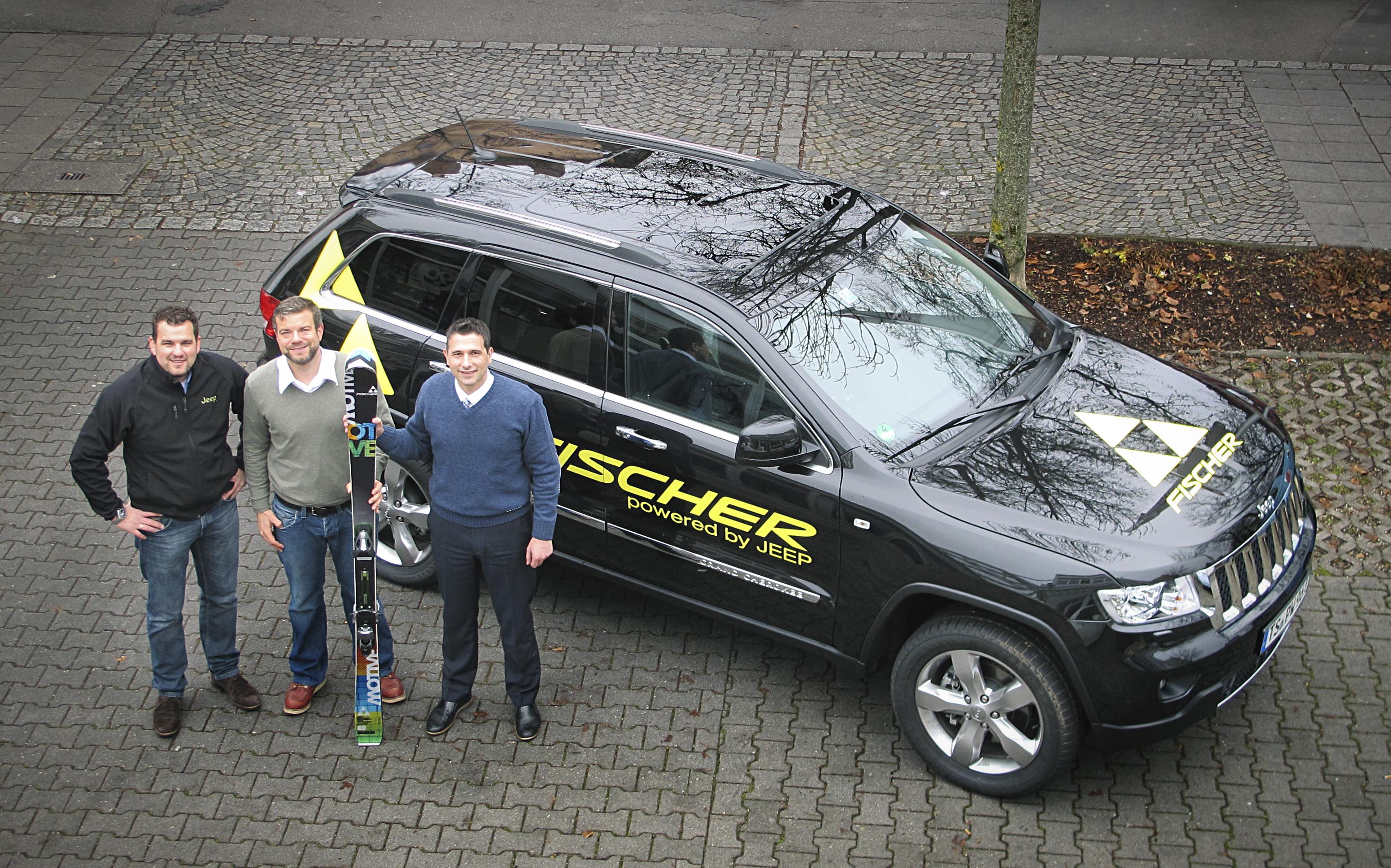 fischer sports fährt jeep - auto-medienportal