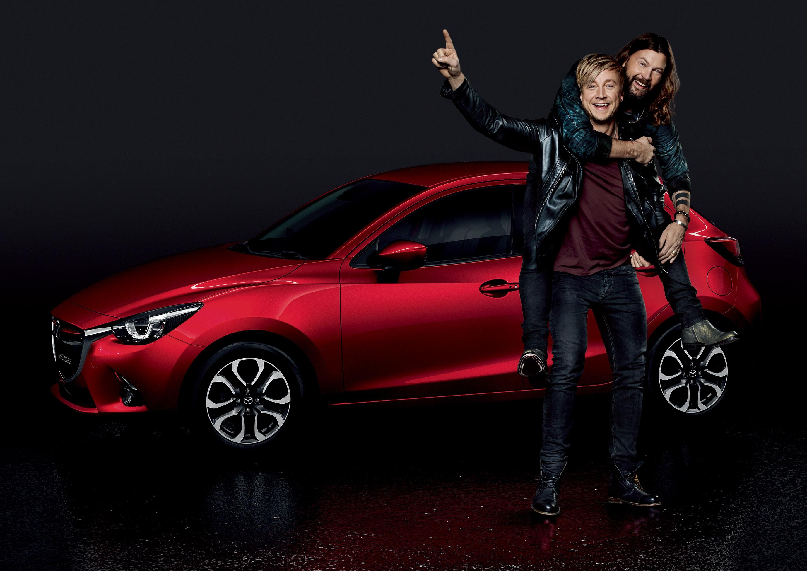 Probefahrt Bei Mazda Mit Rea Garvey Oder Samu Haber