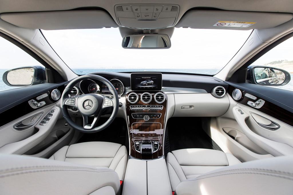 Pressepräsentation Mercedes Benz C Klasse überraschung Auto
