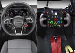 Bedienkonzept des Audi R8 liegt nah am Rennwagen