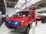 Interschutz 2015: Volkswagen Crafter für die Feuerwehr
