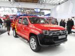 Interschutz 2015: Volkswagen Amarok als Vorauslöschfahrzeug