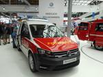 Interschutz 2015: Volkswagen Caddy mit Sondersignalanlage