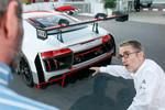 Heinz Hollerweger zum Audi R8 LMS: Weniger Widerstand, mehr Abtrieb