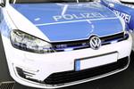 Volkswagen übergibt der Golf GTE an die niedersächsische Polizei
