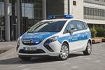 Opel Zafira als Polizeifahrzeug