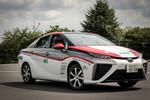 Rallye Deutschland: Toyotas Brennstoffzelle fährt voraus