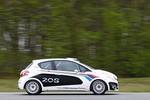 Peugeot 208 R2 als Vorausfahrzeug