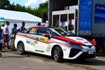 Erstes Brennstoffzellenfahrzeug bei WRC