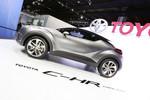 IAA 2015: Toyota C-HR Concept mündet 2016 in ein Serienfahrzeug