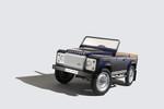Land Rover Defender zum teuren Treten