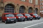Vier Elektroautos für die Feuerwehr