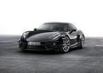 Porsche Cayman in schwarzem Gewand