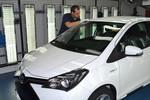 200 000ste Toyota Yaris Hybrid läuft vom Band