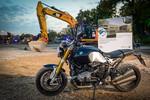BMW baut Logistikzentrum im Motorradwerk