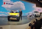 Tokio 2015: Suzukis Nische – je kleiner, desto lieber