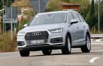 Presepräsentation Audi Q7 E-Tron: Der Stromer ahnt die Strecke