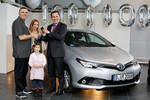 Toyota liefert einmillionsten Hybrid in Europa aus
