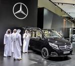 Mercedes-Benz V-Klasse für Japan und die Scheichs
