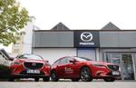 Mazda-Autohäuser in neuem Design