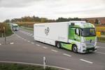 Mercedes-Benz Actros mit verbessertem Motor beim Fuel Duel