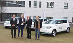Kia übergibt drei Soul EV an die Stadt Frankfurt