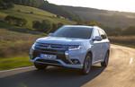 Mitsubishi Plug-in Hybrid Outlander knackt 2000er-Marke