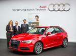 Audi spendet A3 E-Tron