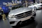 Detroit 2016: Mercedes-Benz E-Klasse setzt Maßstäbe