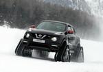 Der Nissan Juke wird zum Pistenschreck