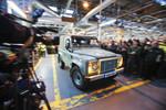 Jetzt ist Schluss: Der letzte Land Rover Defender rollte vom Band