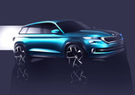 Genf 2016: Skoda-SUV im Touareg-Format