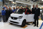 Produktion des Smart Cabrio ist angelaufen