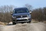 Pressepräsentation Volkswagen Caddy Alltrack: Bereit fürs Gelände