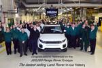 500 000. Range Rover Evoque rollt vom Band