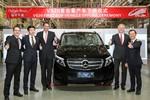 Mercedes-Benz V-Klasse gibt ihren China-Einstand