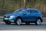 Präsentation Volkswagen Tiguan: Mehr Touareg für den Fahrer