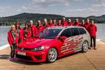 Azubis zeigen zwei Showcars beim 35. GTI-Treffen am Wörthersee