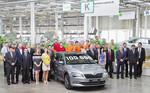 100 000ster Skoda Superb der dritten Generation produziert