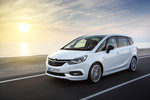 Im nächsten Opel Zafira ersetzt ein Touchscreen Knöpfe