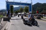Weltgrößtes BMW-Motorrad-Treffen in Garmisch-Patenkirchen