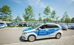 Sachsens Polizei fährt Elektro-B-Klasse