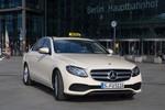 Mercedes-Benz bietet E-Klasse als Taxi