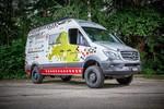 Mercedes-Benz Sprinter unterstützt Charity-Aktion