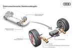 Stoßdämpfer: Bei Audi könnte die Hydraulik bald ausgedient haben