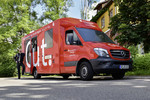 Mercedes-Benz Sprinter als mobile Bankfiliale