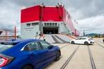 Honda exportiert Civic Fünftürer in die USA
