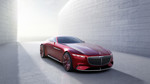 Pebble Beach: Vision Mercedes-Maybach 6 tankt in fünf Minuten Strom für 100 Kilometer