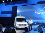 Mercedes-Benz Vision Van: Ab in die Zukunft