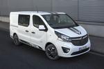 IAA Nutzfahrzeuge 2016: Opel Vivaro im Sportdress